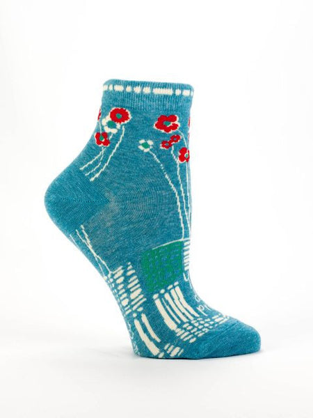 Women's Ankle Socks - You are so Damn Pretty - Blue Q - Navya
