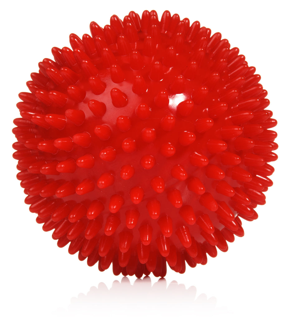 Spiky Massage Ball Rollers and Lacrosse Balls for Myofascial Release - Buy a Single Ball or Complete Set