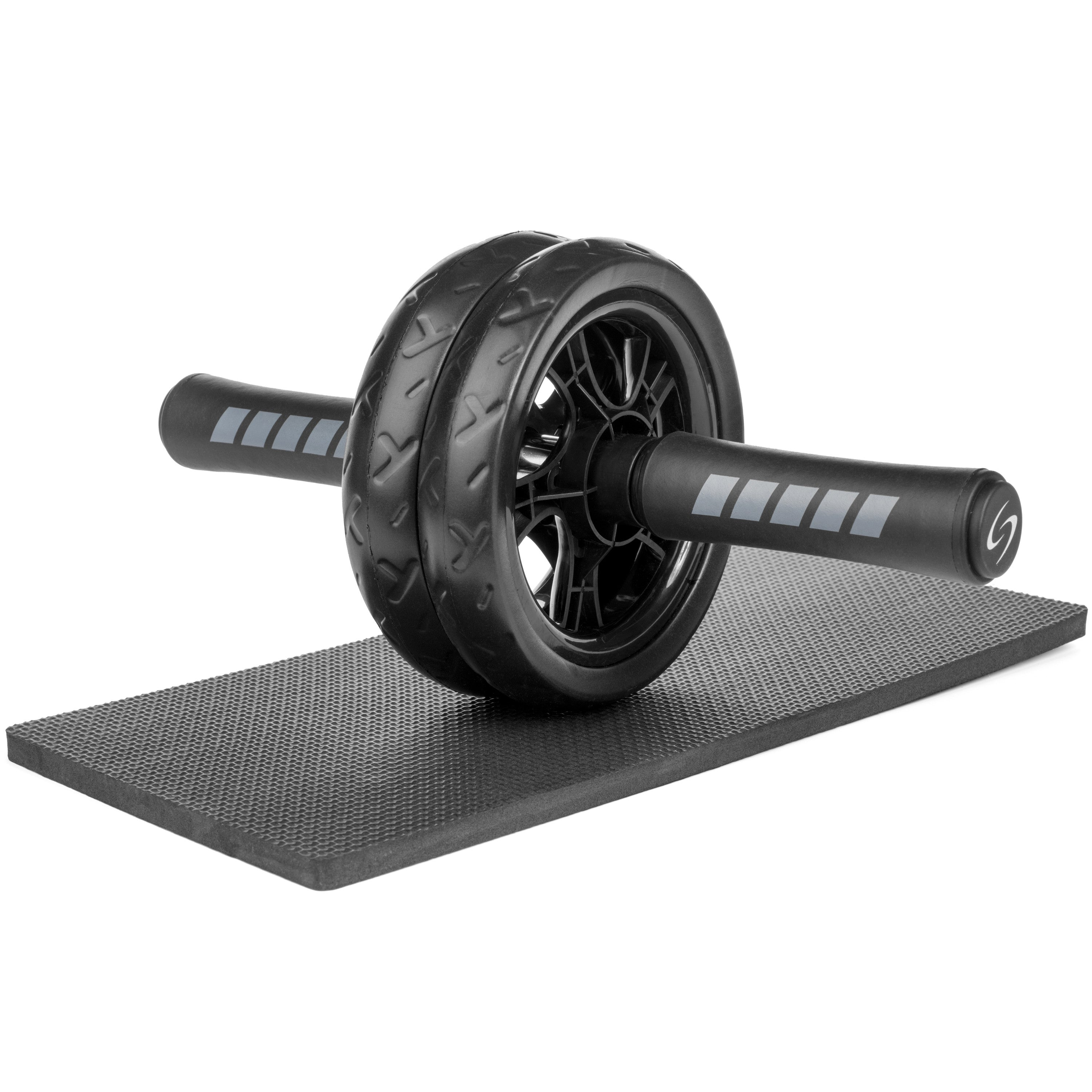 Dual Ab Roller Wheel With Knee Mat Starwood Sports Uk