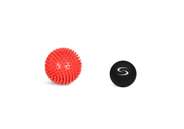 10 cm Very Firm Spiky Ball and 6 cm Lacrosse Ball