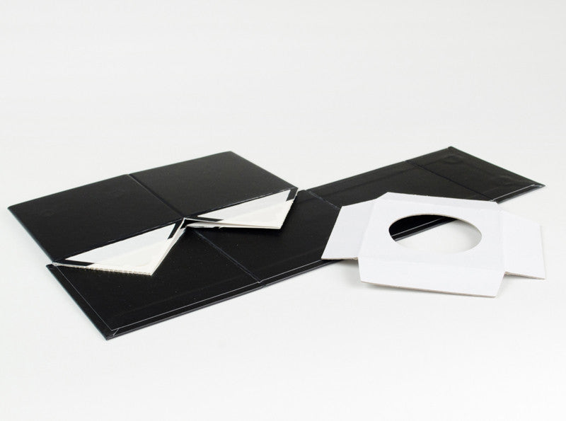 White Small Cube Gift Boxes with No Ribbon