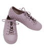 Melissa Polibolha Marc -Pinkish Beige Dotted Lace Up Melissa Shoes