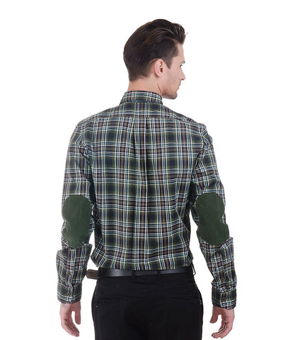 ALEA DARK GREEN BIG CHECK SHIRT