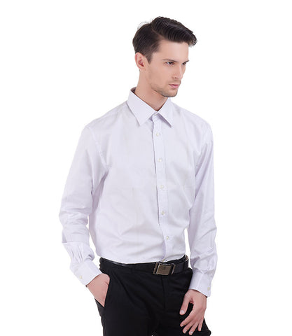 ALEA LILAC SELF PRINT SHIRT