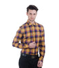 ALEA PURPLE & YELLOW CHECK SHIRT
