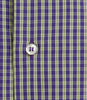 ALEA GREEN & PURPLE CHECK SHIRT