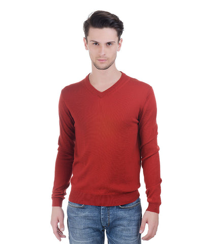 Lagerfeld Rust Pullover