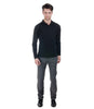 Lagerfeld Grey Self Stripe Trouser