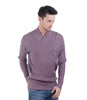 Pierre Clarence Purple Sweater