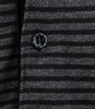 Richmond Black & Grey Stripe Polo T-Shirt