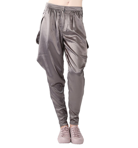STEEL GREY PANTS