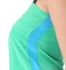 Asymmetrical Green top