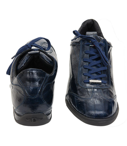 Roberto Botticelli Blue Fish Leather Causal Shoes