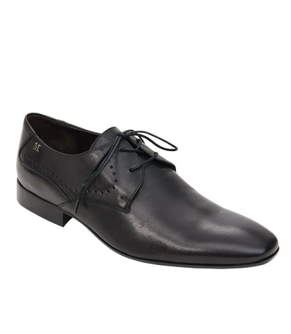 Bruno Magli Black Lace-up Shoes