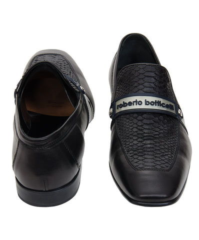 Roberto Botticelli Men's Black Loafer