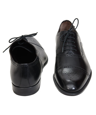 Bruno Magli Black Formal Lace Up