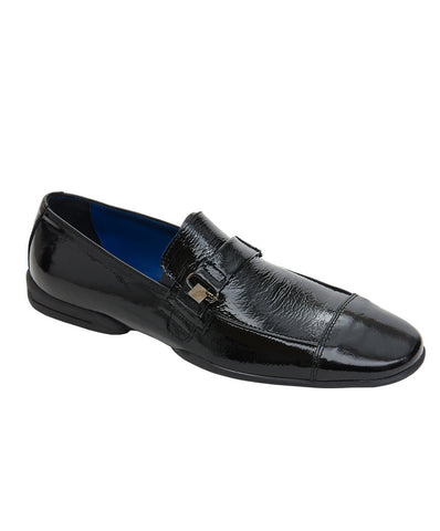 Roberto Botticelli Black Formal Moccasins