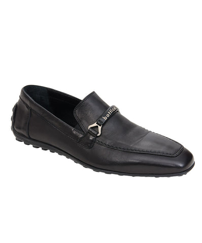 Roberto Botticelli Black Men's Slip On