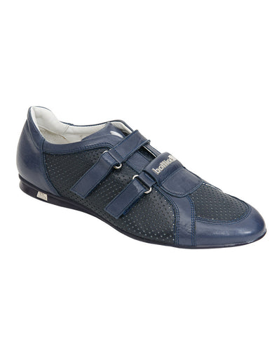 Roberto Botticelli Blue Leather Shoes.