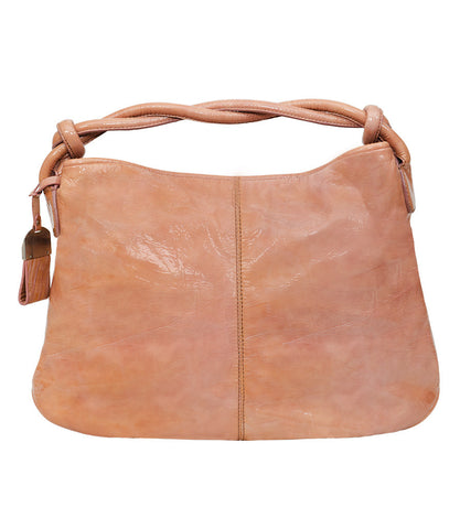 Francesco Biasia Pink Patent Leather Bag.