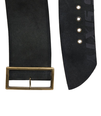 Miss Sixty Wide Belt With Rectangle Buckle