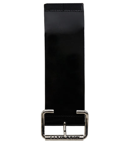 Miss Sixty Chunky Black Waist Belt With Elastic Back