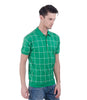Green With White Check Farhi T-Shirt