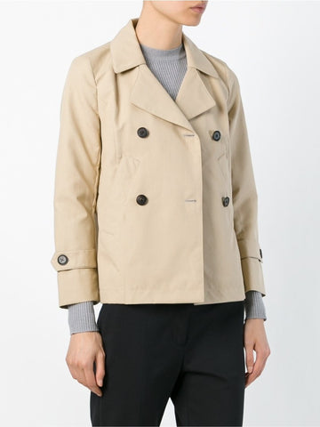 Beige cotton blend Doris peacoat