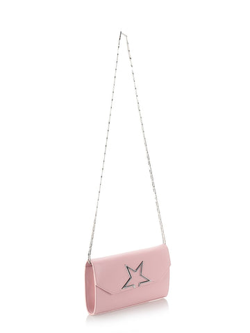 Pink Vedette crossbody pouch