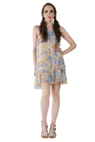 Phard Beige Floral Dress