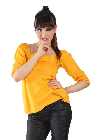 Phard Mustard Yellow Top