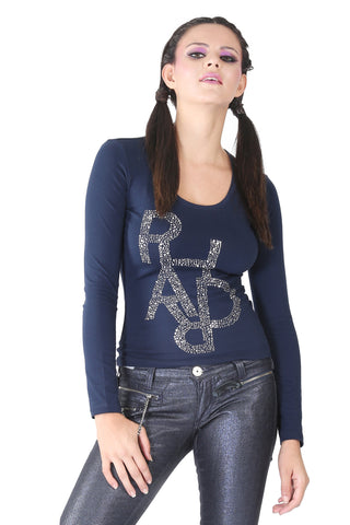 Phard Navy Blue Top