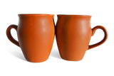 Terracotta Clay Coffee/Tea Mugs, Small, Set of 4.