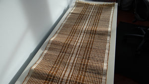 Terrahue Table Runner, Woven with Banana fiber and cotton thread, Eco-freindly
