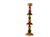"'Sthamba'- Candle Stand - Eco-friendly & Sustainable Wood - 12""h x 3""w x 3""d"