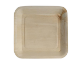 Terrahue Palm Leaf Plates,9.5 inch square, 100% Natural,Biodegradable,Compostable.