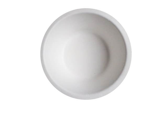 Terrahue 8 Oz Bowls, Biodegradable and Compostable, Sugarcane bagasse