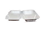 Terrahue Take Out Container 9x6x3 inches, Biodegradable, Compostable, Sugarcane fiber, Eco-friendly