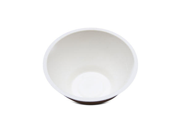 Terrahue 6 Oz bowls,Biodegradable, Compostable, Sugarcane bagasse