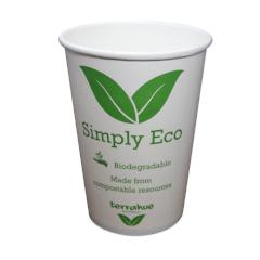 Simply Eco Hot Soup/Food Bowl, 32 Oz, Biodegradable and Compostable, Paper with PLA lining