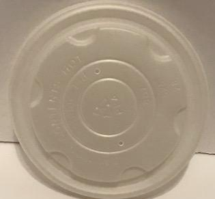 Terrahue Compostable PLA Lid for 12 -32 Oz Hot Soup/Food Bowl