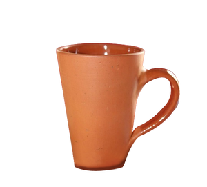 Terracotta Clay Coffee/Tea Mugs - Set of 4 -12 oz