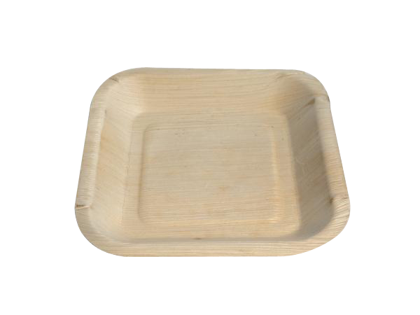 Palm Leaf Plates - 6.5 inch square