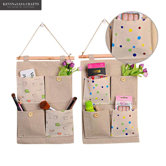 Burlap/Jute Supplies Organizer