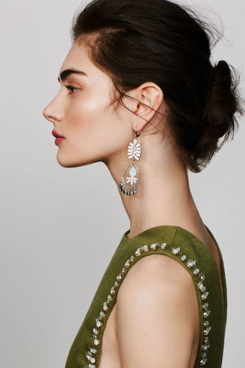 How It's Done: This Summer's Statement Earrings