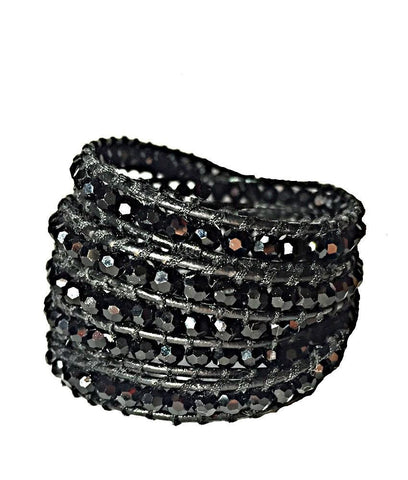 Wrap Bracelet - All Black Wrap Bracelet