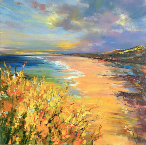 'Day Out At Rhossili Bay' Limited Edition Giclee Print