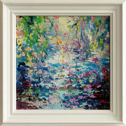 'A New Day' Framed Oil Painting on Canvas