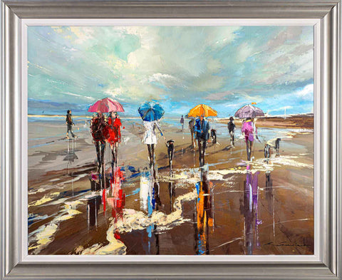 'Summer Calling' Framed Oil Painting