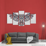 THE OWL 5 PANEL CANVAS